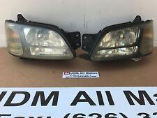 1999-2003 Subaru Legacy XENON HID SMOKE Headlights GT Turbo BE5 BH5 B4 JDM OEM