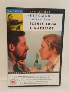 Scenes From A Marriage (1973) DVD Ingmar Bergman ENG-SUB, UK R2 DVD