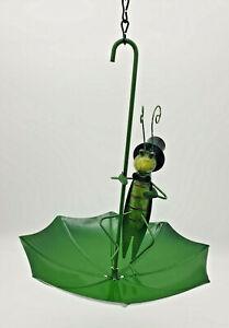 Fountasia Umbrella Luvlies Grasshopper Bird Feeder