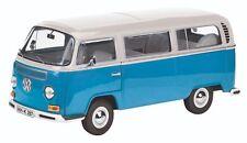 VW T2a L - White/Blue  1/18 Schuco