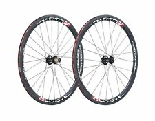 NEW Vision Metron 40 Clincher Disc 700c Carbon Aero Road Bike Wheelset FSA 11spd