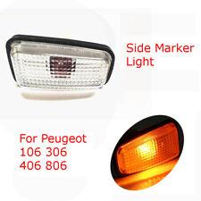 For Peugeot 406 306 106 806 12V Car Side Indicator Repeater Light Lamp 632567