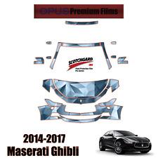 3M PRO Series PreCut Paint Protection Kit for Maserati Ghibli 2014 - 2017