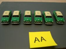 1/87 HO scale Athearn Taxi lot.