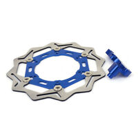 Bracket 270mm Floating Front Brake Disc Rotor For Yamaha YZ125 250 WR125 WR250