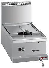 Modular Gas Friteuse 1 Becken 10 Liter, Tischgerät ohne Unterbau Gastlando