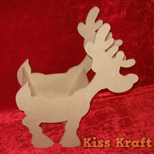 MDF Wooden Christmas Reindeer - For holding Xmas Gifts etc