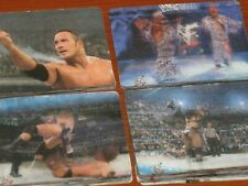 WWF Wrestling 'IN THE RING' Complete 40 Card Set Of 3D Lenticular Trading Cards