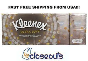 Bulk Kleenex Pocket Tissues Ultra Soft and Silky 5/10/20/50/100 Packs Wholesales
