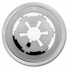 2021 Niue 1 oz Silver $2 Star Wars: Galactic Empire Bullion Coin - In Capsule!
