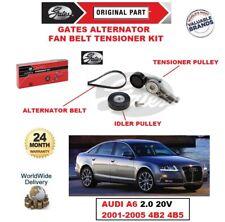 GATES Alternatore Tendicinghia Ventilatore Kit per AUDI A6 2.0 20V 2001-2005 4B2