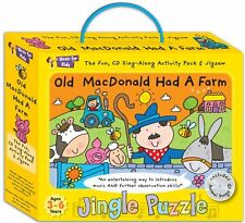 Music for Kids Old MacDonald Had a Farm Jingle Puzzle - childrens activity box