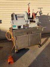 Ridgid Model 1822 1 Nice 12 Inch 2 Inch Power Threading Machine