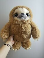 "16"" Handmade Kids Stuffed Animal Brown Sloth Bear Plush Toys Cute Gift Baby Doll"