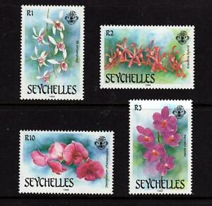 Seychelles 1988 Orchids Orchideen