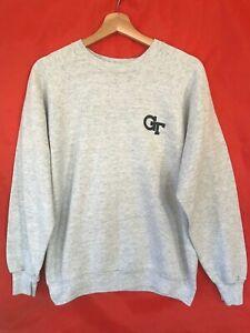 Vintage Georgia Tech Sweatshirt. Fruit of the Loom. Made in US. Large.