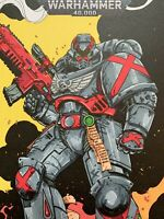 Blood Angel Death Company Spacemarine Art On Marneus Calgar #1 Variant Comic