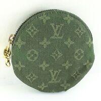 LOUIS VUITTON PORTE MONNAIE ROND Coin Case Wallet Purse Monogram Mini M92451