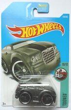 2017 Hot Wheels TOONED 10/10 Chrysler 300C 126/365 (Metallic Grey Version)