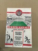 Sunderland v Tottenham Hotspur 1953/54