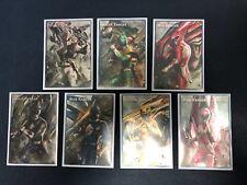 7x Mighty Morphin Power Ranger + Megazords Tokens Custom Full Holo Rare Yugioh