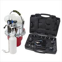 New Portable Pneumatic Air Pressure Kit Brake & Clutch Bleeder Valve System Kit