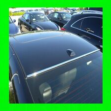 VOLKSWAGEN CHROME FRONT/BACK ROOF TRIM MOLDING 2PC W/5YR WRNTY+FREE INTERIOR PC