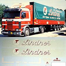 Scania Lindner Austria (AT) 1:87 camion decalcomania autocarro