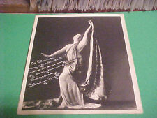 CA 1930'S SIGNED PHOTO DANCING INSTRUCTOR GLADYS HIGHT CELEBRITY SIGNATURE KNOWN