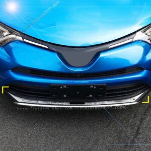 for Toyota Rav4 2016-2017 stainless steel Front bumper lips trim strips 1pcs