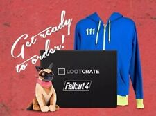 Fallout 4 Loot Crate Large Hoodie New Sealed