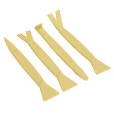 4 pc Nylon Pry Bar Set Automotive Plastic Trim Molding Dash Panel Remover Tool