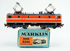 MARKLIN/HAMO HO SCALE 8343 AREA BR 243 ELECTRIC ENGINE #RE 1010 DC 2-RAIL