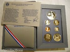 1986 USA UNITED STATES MINT COINS PRESTIGE SET LIBERTY COFFRET