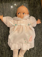Rose O'Neil Vintage KEWPIE DOLL BABY FIGURINE Mint Condition With Outfit