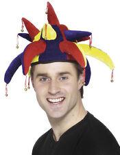 Lustige Narren Kappe für Erwachsene NEU - Karneval Fasching Hut Mütze Kopfbedeck