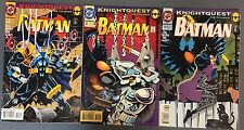 BATMAN lot of (3) #501 #502 #503 (1993/1994) DC Comics VERY FINE