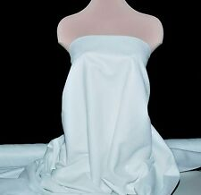 """FAUX SUEDE FABRIC 100% POLYESTER, DOUBLE FACE, SOFT 60"""" SNOW WHITE , CLOTHING"""