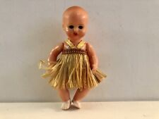Vintage Mq Michael Querzole 3 1/2 Inch Celluloid Baby Doll From Italy