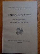 ANS Notes and Monographs 149:  Victory as a Coin Type - Bellinger