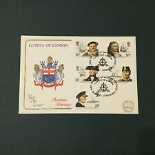 GB 1982 Maritime Heritage FDC, Cotswold, Lloyds of London Pmk (FDC334)
