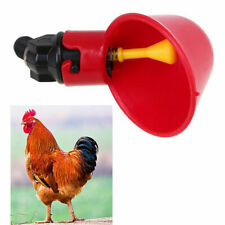 2/4/10pcs Pet Bird Chicken Drinking Automatic Drinker Feeder Water Cup Pigeon