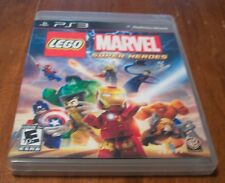 LEGO MARVEL SUPER HEROES Playstation 3 PS3 VIDEO GAME TESTED COMPLETE