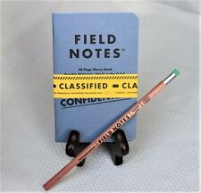 "Field Notes Loot Crate ""Classified"" Edition Notebook 2-Pack & Field Notes Pencil"