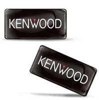 3D Silicone Aufkleber Stickers Kenwood Autoradio Bluetooth Lautsprecher Auto