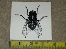 NOS Fly clear backing sticker decal original 1980's skateboard skate board