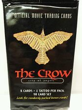 The Crow City Of Angels 1996 Movie Trading Card 30 Sealed Pack Lot