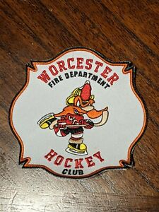 Worcester Fire Hockey Patch