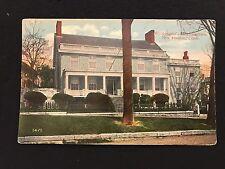 Washington's Headquarters New London, Ct postcard unposted