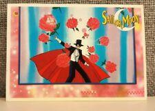 Vintage Tuxedo Mask Sailor Moon Toei Dic Trading Card Sticker #58 Darien